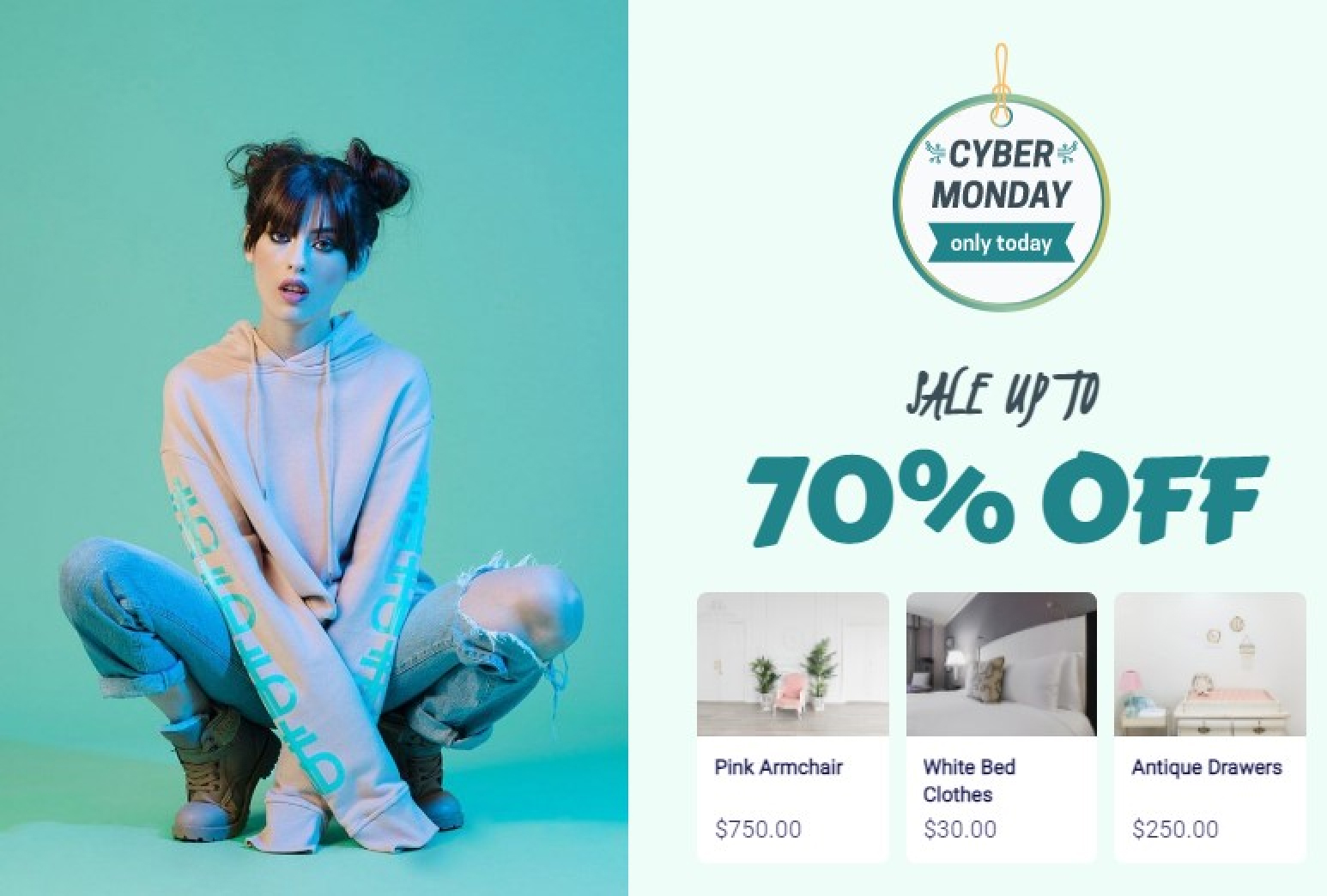 Black Friday and Cyber Monday Products Recommendation With Amazing Popup